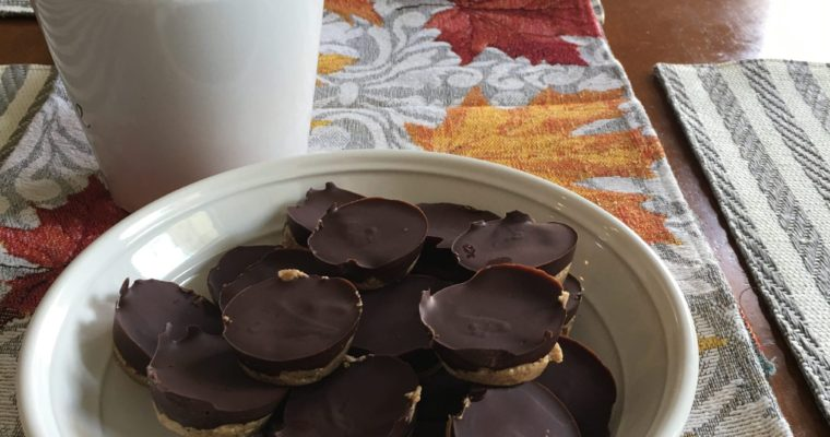 Four Ingredient Paleo Reese's Cups